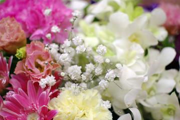 flower decoration for wedding background