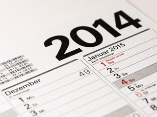 Jahresende und Neues Jahr 2015