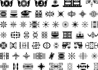 Znaki Egiptu do tatuażu