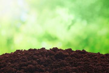 Fototapeta Spring soil background obraz