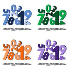 Amas de chiffres