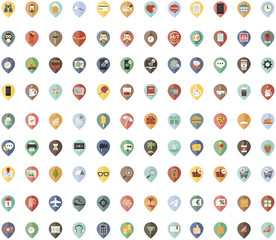 icones flat