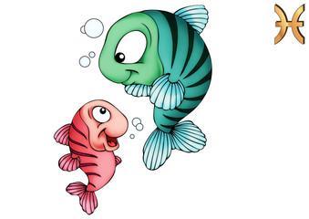 Fische, Pisces, Poissons, Piscis, Sternzeichen, Tierkreiszeichen
