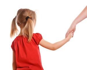 Kind an die Hand nehmen