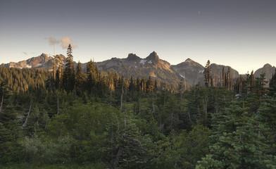 Tatoosh Range Pinnacle Castle Unicorn Boundary Plummers Peaks