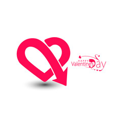 Happy Valentine's Day, Vector Illustration.