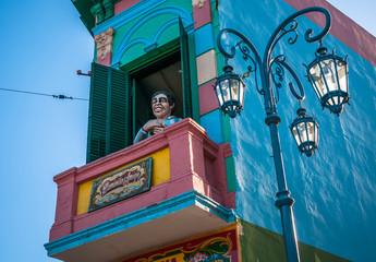 La Boca neigborhood, Buenos Aires, Argentina