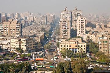 View of Cairo street