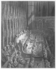Westminster Abbey Choir -  Dore's Dore's London: a Pilgrimage