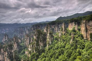zhangjiajie national park hunan province china