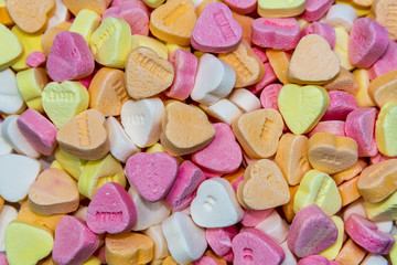 full frame candy hearts