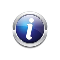 Info Circular Rounded  Vector Icon Button