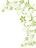 """""""floral,blatt,blume,blätter,blüte,rahmen,pflanze,vorlage"""