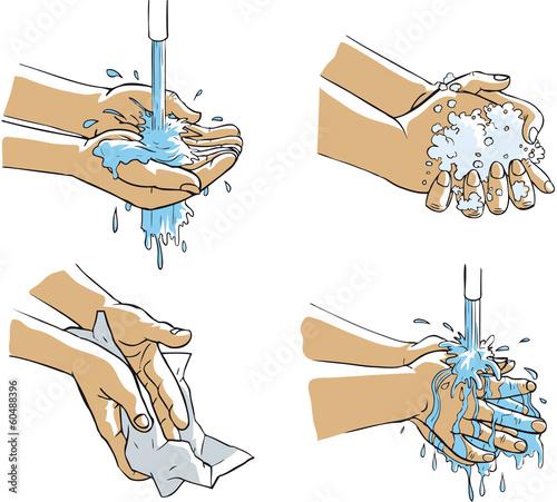 lavage mains savon fichier vectoriel libre de droits sur la banque d 39 images. Black Bedroom Furniture Sets. Home Design Ideas