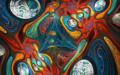 Illusion warp space