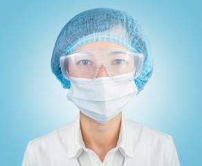 Portrait of doctor surgeon
