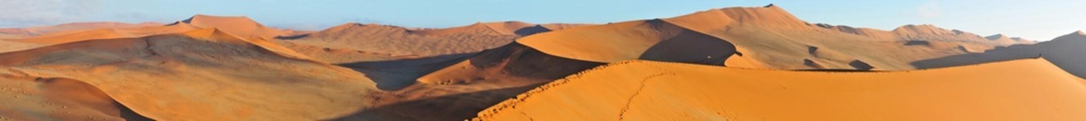 Foto auf AluDibond Wuste Sandig Dune landscape panorama