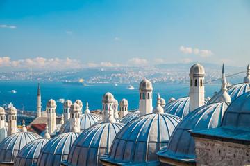Printed roller blinds Turkey Süleymaniye mosque, Istanbul