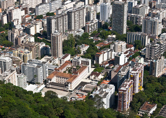 Aerial View of Residential Buildings in Rio de Janeiro, Brazil