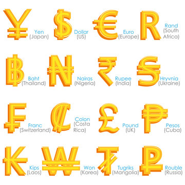 World Currency Symbol