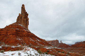 Valley of Gods in winter