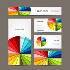 Business cards collection for your design