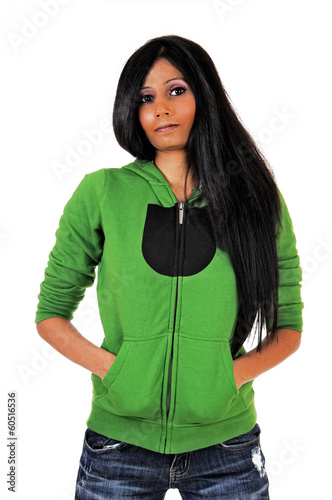 girl in the green sweater analysis