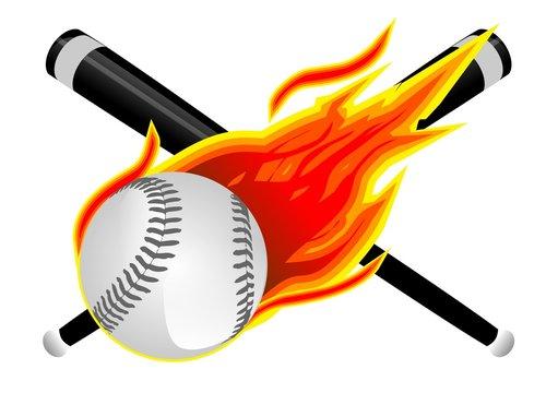 Baseball in Flames