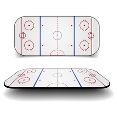 icehockey court