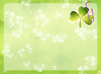 St. Patrick's frame