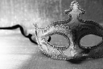 Wall Mural - Vintage venetian carnival mask