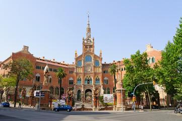 Hospital de Sant Pau in Barcelona, Spain