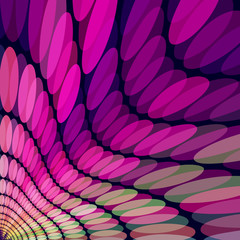 Abstract stylish backgrund with pink and purple tones.