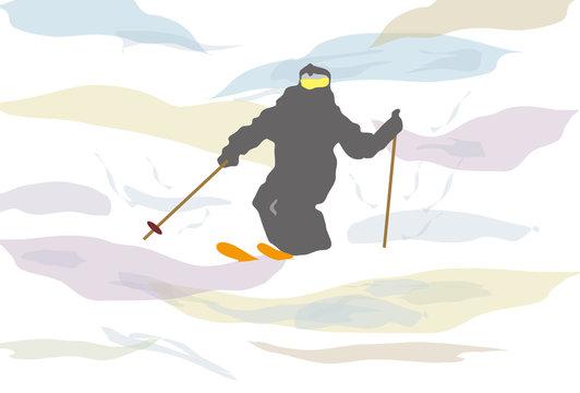 スキーとゲレンデ