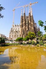 Sagrada Família in Barcelona, Spain