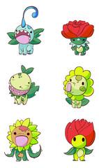 plant fantasy animals