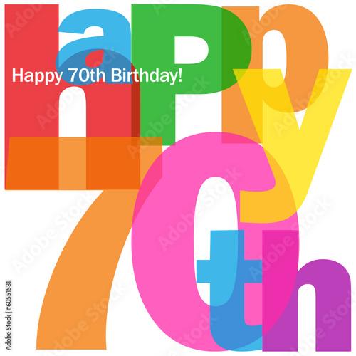 """Celebrating 70th Birthday Quotes: """"""""HAPPY 70TH BIRTHDAY"""" CARD (seventy Party Celebration"""