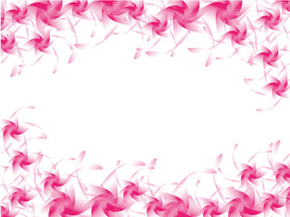 Background of pink flowers.