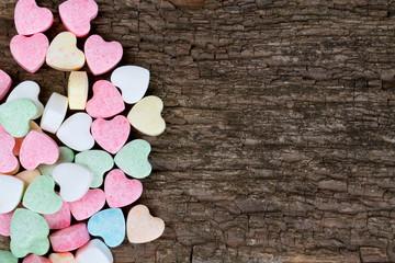 beautiful candy hearts