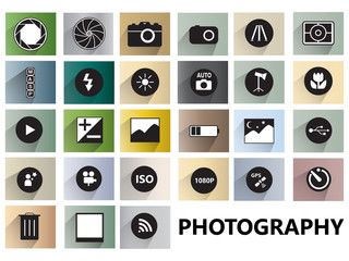 Photography icon symbol