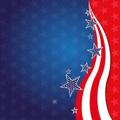 Hintergrund Amerika USA Sterne Vektor Illustration