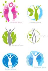 abstrakt body logo-set 02