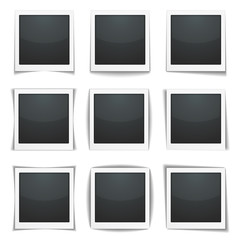 Photo Frames with Different Shadows