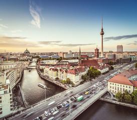 Foto op Canvas Berlijn Berlin Cityscape