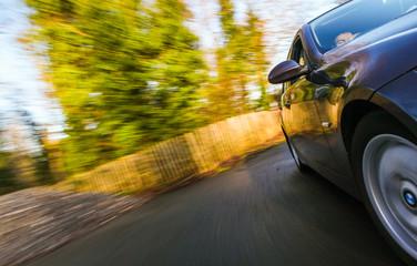 Fototapete - Car speeding