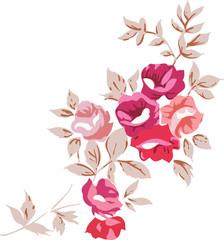 Vintage Romantic Roses