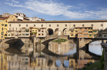 Wall Mural - Ponte Vecchio bridge in Florence, Italy
