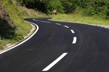 Black Winding Road
