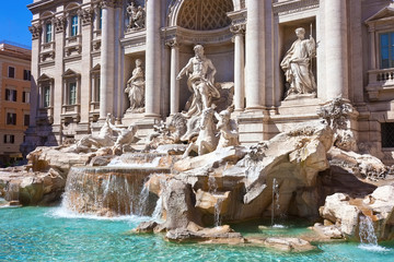 Wall Mural - Fountain di Trevi