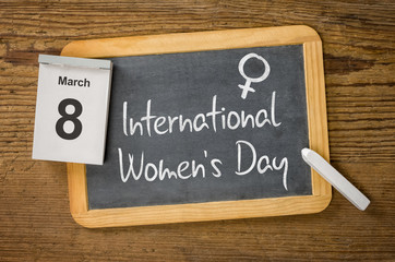International Women's Day, March 8